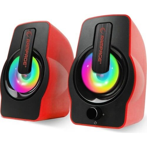 RAMPAGE RMD-G7 FALSETTO GAMING SPEAKER KIRMIZI